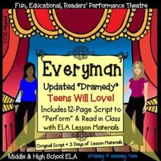 Reader's theater (script and lessons) for middle school and high school. Medieval drama has never been this fun - share a taste of Medieval European culture and drama with your students! With this purchase, you will receive BOTH the SCRIPT and lesson materials for a cross-curricular history and ELA experience. Students analyze a cultural experience reflected through this short work of literature (RL6).Check out the preview to read a page of the script!