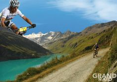 The Great Raid - Mountain bike race between Verbier and Grimentz, in Canton of Valais (Switzerland).