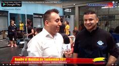 El Maestro Cito René Forero, entrenador de la Selección Colombia de Taekwondo rumbo a mundial Muju 2017