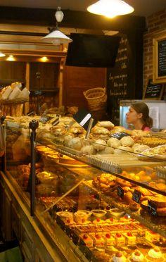 Another bakery case idea.
