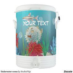 Underwater scene cooler