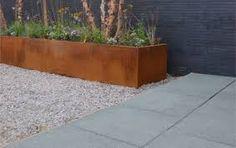 Corten plantenbak + GeoColor + Olivijn-MBI-NL Greenlabel