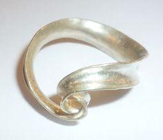 'Swirl ring' by Anne Massey