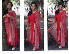 Simple Kurti Designs, Half Saree Designs, Salwar Designs, Kurti Designs Party Wear, Saree Blouse Designs, Designer Party Wear Dresses, Indian Designer Outfits, Salwar Dress, Anarkali