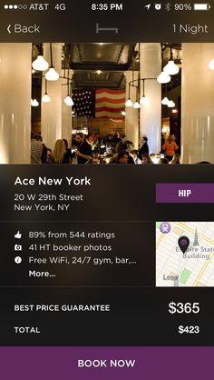 iPhone Detail Views Screenshots :: Mobile Patterns