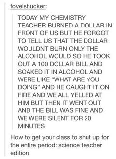 Teachers can be great