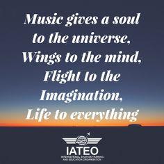 #Life #Quotes #Flight Aviation Quotes, Aviation Art, Life Quotes, Company Logo, Mindfulness, Education, Quote Life, Quotes About Life, Life Lesson Quotes
