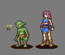 8 bit game character generator