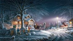 Artist Terry Redlin - A picture can say so much.
