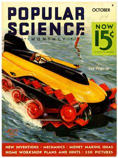 Spicing Up The Daily Commute Workshop Plans, Home Workshop, Science Magazine, New Inventions, Vintage Magazines, Spice Things Up, Making Ideas, How To Make Money, Popular