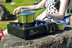 Portable Gas Stove Find the perfect camping gear for your camping needs Best Camping Stove, Best Tents For Camping, Camping 101, Camping Tools, Camping Games, Camping Essentials, Camping With Kids, Tent Camping, Outdoor Camping