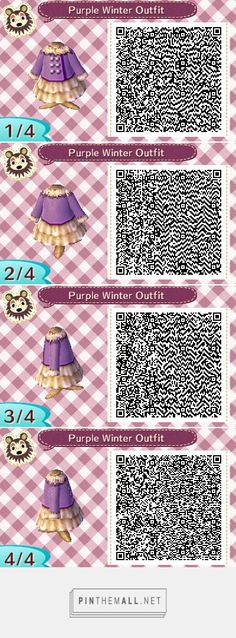 Purple winter outfit