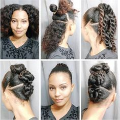 Need some #hairinspiration for #washday? @_simplystasia delivers with this simple yet gorgeous updo!  #OYINFallinLove #naturalhair #naturalhairstyles #pictorial #naturalhairjourney #hairlove #hairturorial #naturalhairturorial #updo #teamnatural #naturalhairrocks    #repost @_simplystasia I have another hairstyle to share with ya! It's super easy! I started on stretched hair. (I know it looks like I blowdried my hair but I did not. I had the curlformer/perm rods set for a few days and then…