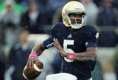 Everette Golson ND 2012 QB coming of age