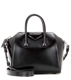 GIVENCHY Antigona Mini leather shoulder bag. #givenchy #bags #shoulder bags #leather #lining #