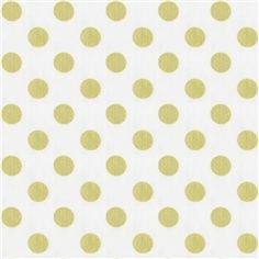 White and Gold Dot