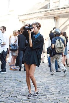 My Fashion Tricks: Street style: Photographers - Bloggers! (Smile..;-))