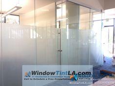 frost window film for office