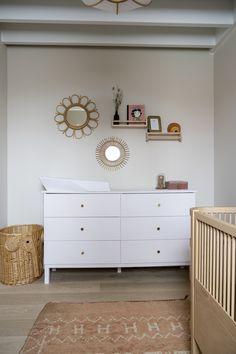 Nursery Room, Girl Nursery, Dolls Prams, Baby Room Design, Baskets On Wall, Cute Baby Clothes, Living Area, Kids Room, Room Decor