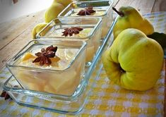 Compot de gutui fara zahar Canning Pickles, Ethnic Recipes, Food, Canning, Essen, Meals, Yemek, Eten