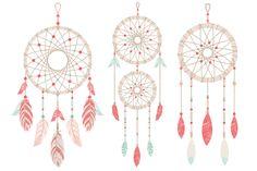 dreamcatchers tribal clipart dreamcatcher graphics dream catcher rh pinterest com boho dreamcatcher clipart free dream catcher clipart