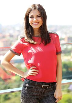 Victoria Justice - Photoshoot Portraits in Sydney