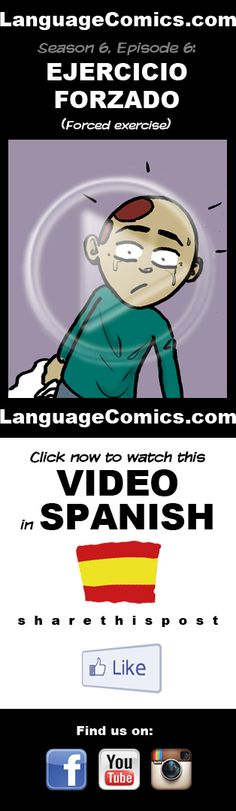 #Spanish practice and pronunciation. Enjoy and share! https://www.youtube.com/watch?v=iPmZJFtng5I