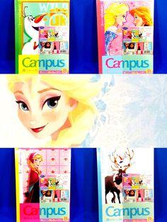 サンスター文具 キャンパスノート アナと雪の女王5冊パック