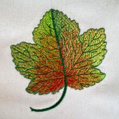 Realistic Fall Leaf  4x4  A beautiful, richly colored realistic leaf to enhance and compliment your Fall decor !  Intricately detailed, warm and earthy. Perfect for your Autumn wardrobe, great for that special fall flair feel! $4.00