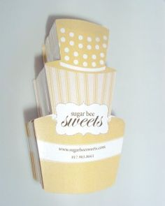 custom die cut business cards, cake shaped business cards, photographer business cards, creative business cards