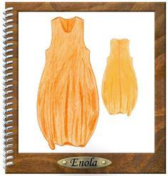 Maxi dresses - Layering Designer interface Ballonkleid Enola - a designer piece of RS-DESIGN24 on DaWanda