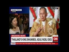 Passing of the Great King / CNN Reports from Bangkok / 13 October 2016 via Popular Right Now - Thailand http://www.youtube.com/watch?v=Y6vAGljWVxk