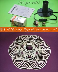 Items similar to Lighting Mindfulness Mantra Sconce Lamp shades Hygge IKEA Wanddeko Woodworking project Woodcraft Redesign Ikea hacks Ikea lamps on Etsy Sacred Geometry Patterns, Ikea Lamp, Lamp Shades, Hygge, Mantra, Wood Crafts, Woodworking Projects, Sconces, Handmade Items