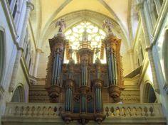 Grand-Orgue historique de St Antoine-l'Abbaye, Isère. Rhône-Alpes