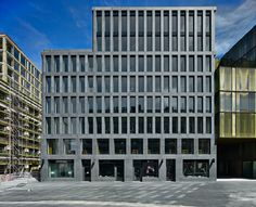 Europaallee is expanding. The major bank UBS AG has already relocated to the new building, named Europalle 21, situated beside Zurich's main train station and its university of teacher education. Three renowned european architectural firms have designe...
