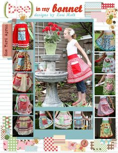 super cute aprons and other inspiration