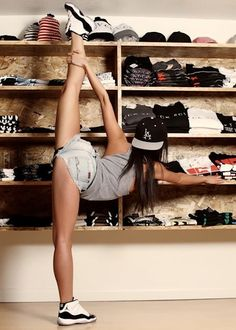 #chicksinkicks #flexible #filthyGoods