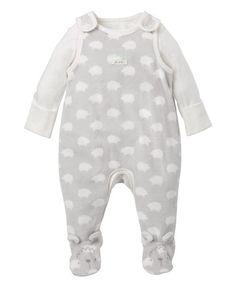 Mothercare Conjunto Peto Body Gris - Bebe Niño Inv.2014 - Moda infantil - 2915e377ad02