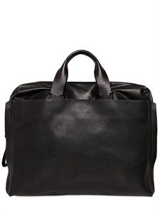 LANVIN - GRAINED LEATHER PC BAG - LUISAVIAROMA - LUXURY SHOPPING WORLDWIDE SHIPPING - FLORENCE