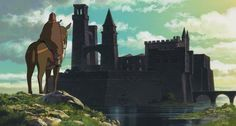 December Studio Spotlight: Studio Ghibli TALES FROM EARTHSEA [Gedo senki] Directed by Goro Miyazaki Screenplay by Goro Miyazaki and Keiko Niwa Based on a concept by Hayao Miyazaki Studio Ghibli Art, Studio Ghibli Movies, Ghibli Backgrounds, Tales From Earthsea, Grave Of The Fireflies, Studio Ghibli Characters, Japanese Animated Movies, Landscape Concept, Fantasy Films