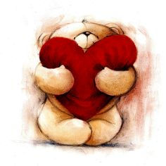 Image detail for -Bear valentine iPad Wallpaper | Themes and Wallpapers for iPad