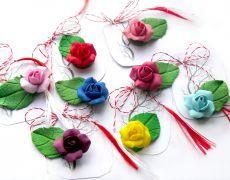Christmas Nativity, Christmas Ornaments, Baba Marta, 8 Martie, Crochet Designs, Clay Jewelry, Needle Felting, Diy And Crafts, Jewelery