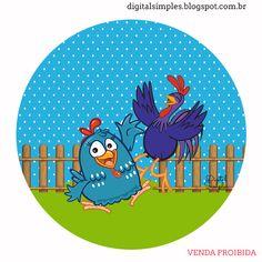 A festa da Galinha Pintadinha e sua turma, agora irá fazer parte da sua festa de aniversário, com esse kit de artes digitais free. ...