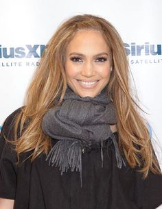 Jennifer Lopez Hairstyle Youthful Impressive Smooth Medium Straight Lace Front Wig 100% Human Hair about 16 Inches : wigsbuy.com