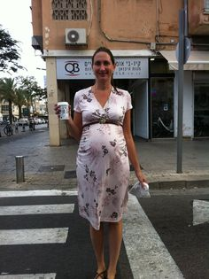 Burda Maternity Dress 06/2010