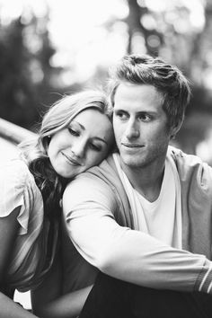 Engagement photos are so much better when the couple is attractive...sad, but very true.