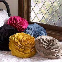 So cute pillows! Dorm Pillows, Monogram Pillows, Cute Pillows, Sewing Pillows, Floral Pillows, Decorative Throw Pillows, Accent Pillows, Dorm Bedding, Bedding Sets