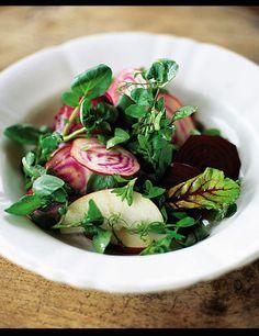 beetroot, red apple & watercress salad | Jamie Oliver | Food | Jamie Oliver (UK)