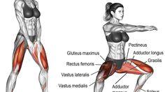 Bodyweight sumo squat exercise