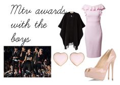 """""""Mtv awards with the boys"""" by adventurous-fashionista ❤ liked on Polyvore featuring Giuseppe Zanotti, MICHAEL Michael Kors and River Island"""